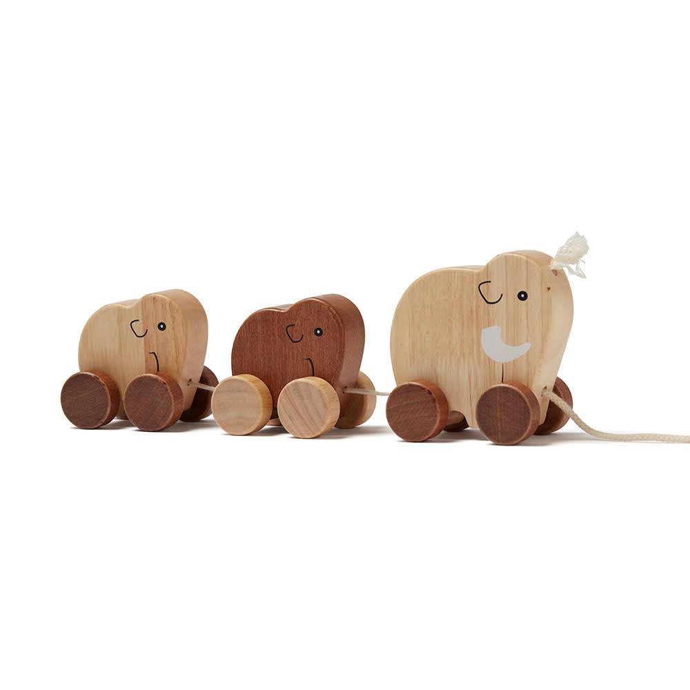 Kid's concept houten trekspeeltje mammoet - Neo-3