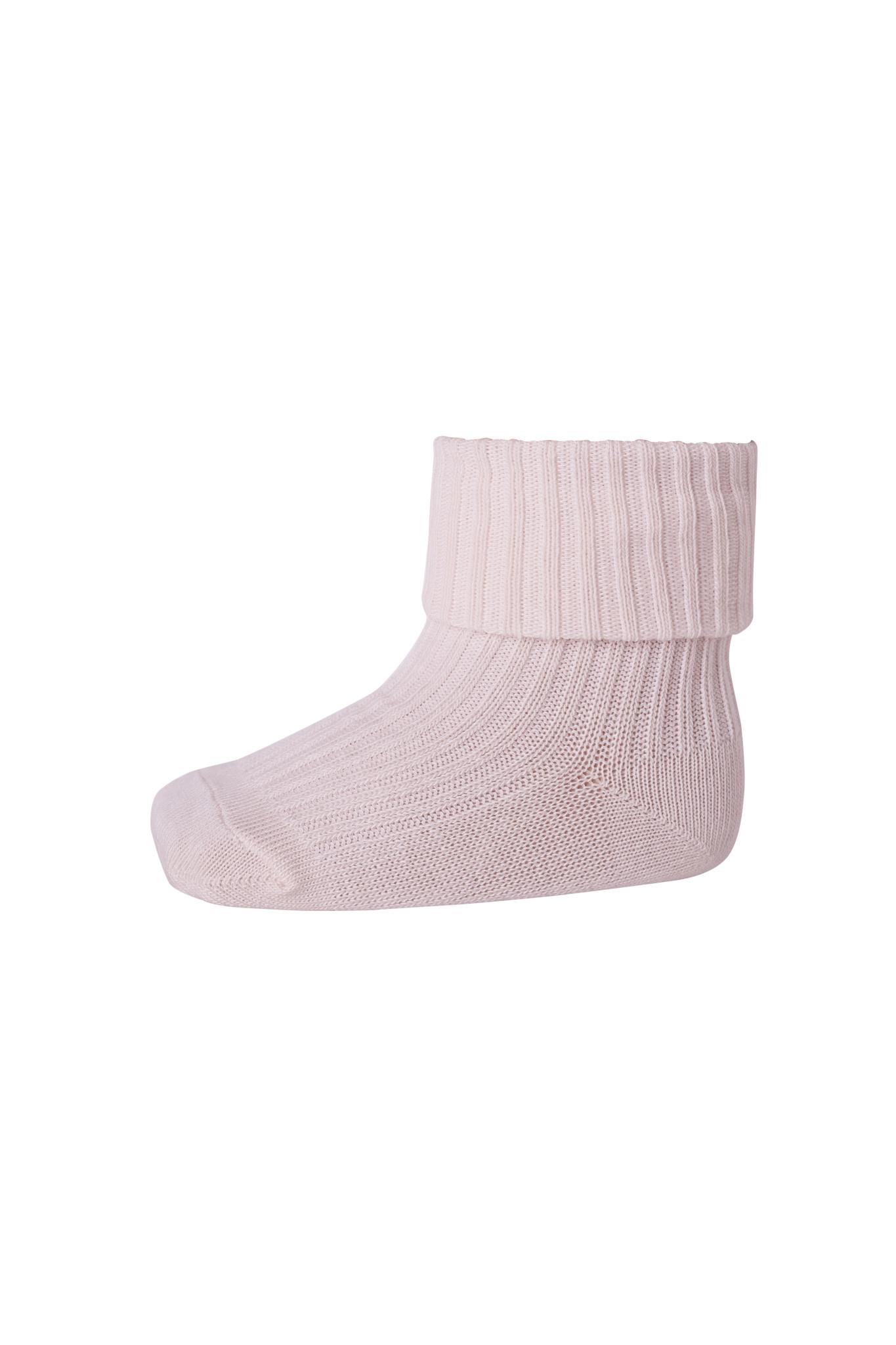MP Denmark cotton rib sokjes - 870 rose grey-1
