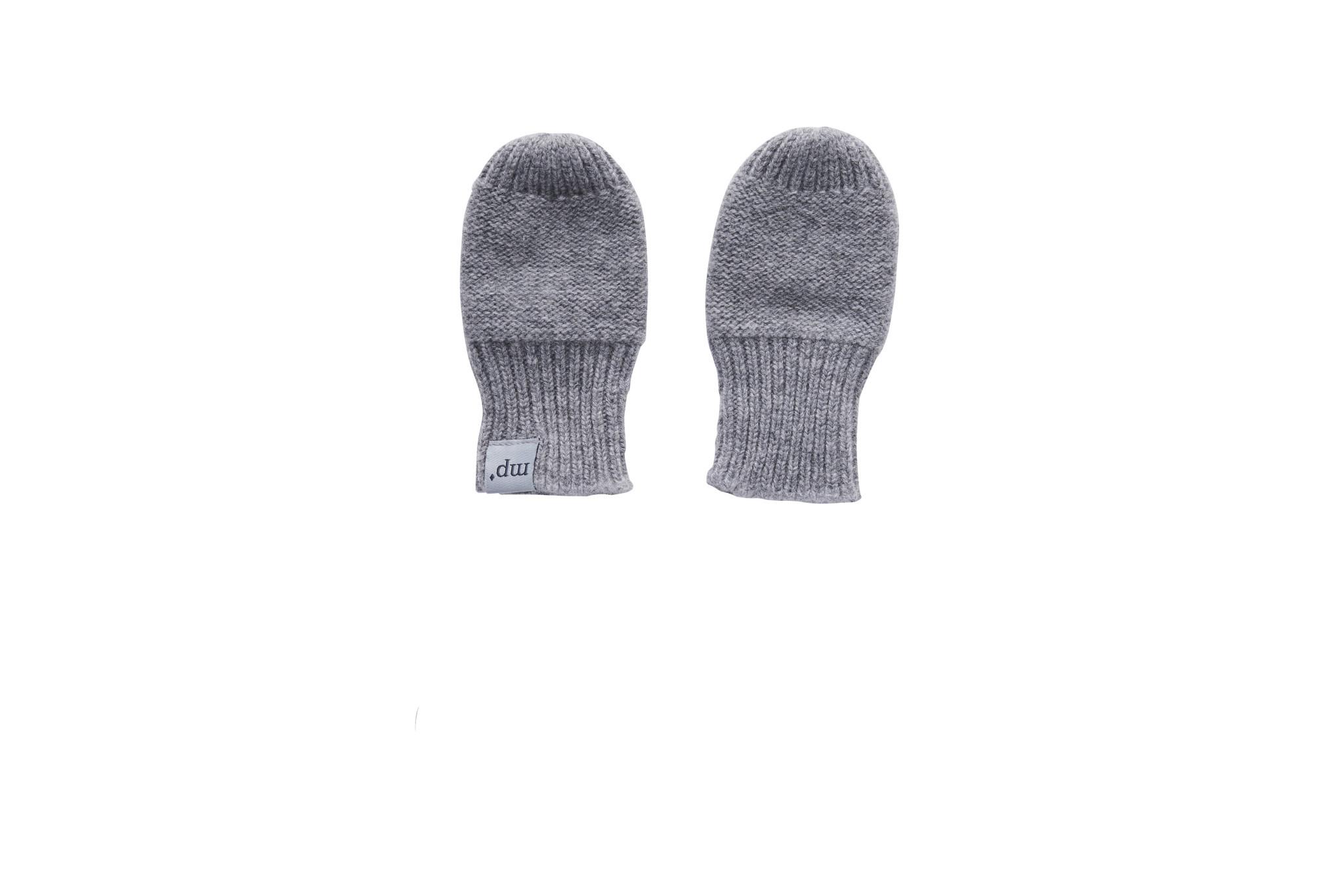 MP Denmark Cassidy handschoentjes - 494 Middle grey melange-1
