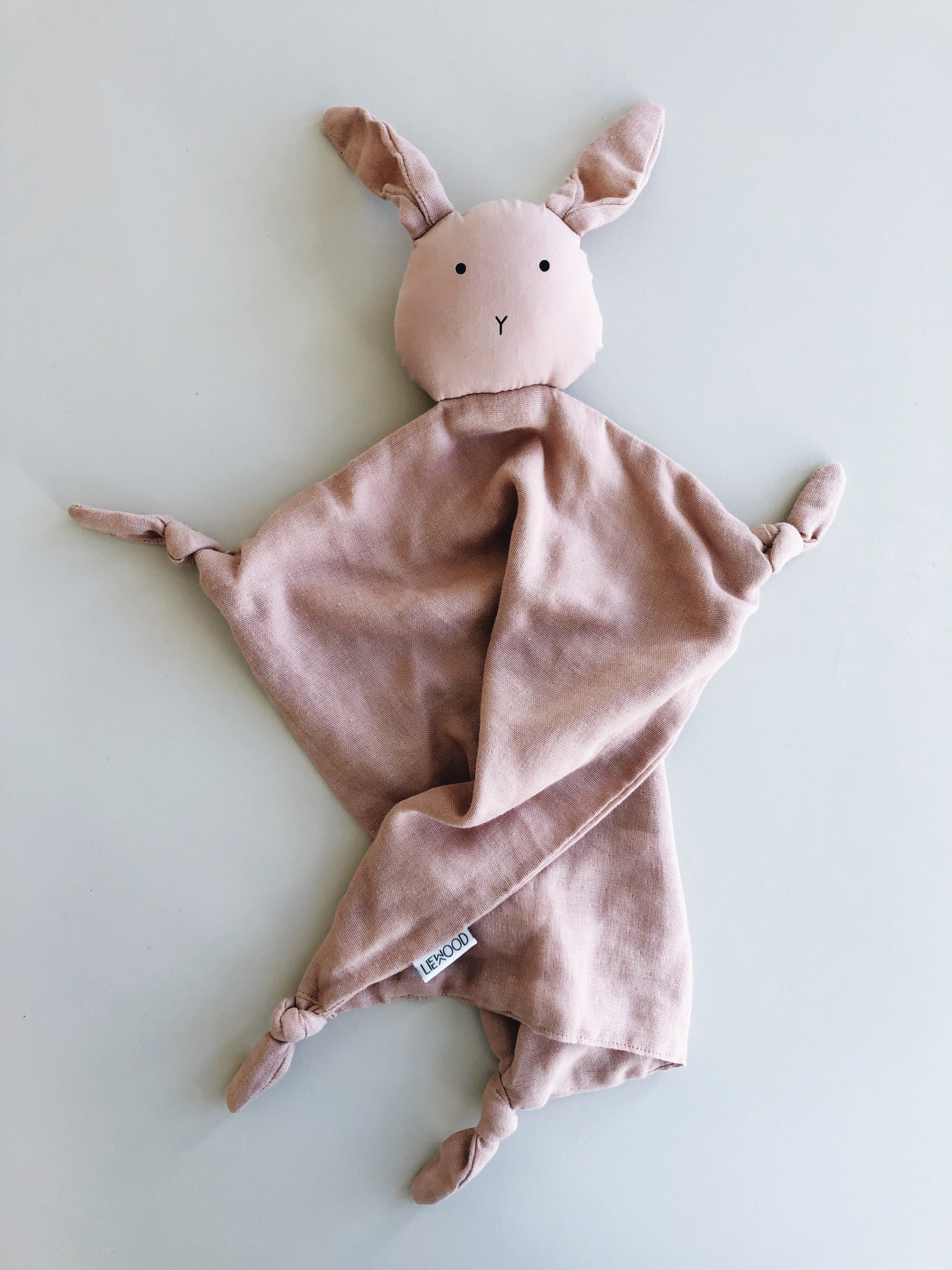 Liewood agnete knuffeldoek - Rabbit rose-2