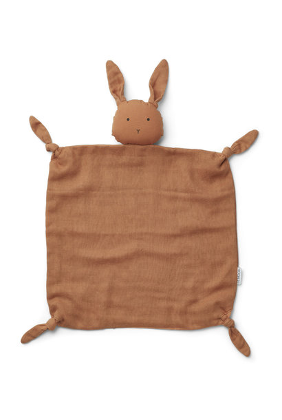 Liewood agnete knuffeldoek -  Rabbit sienna