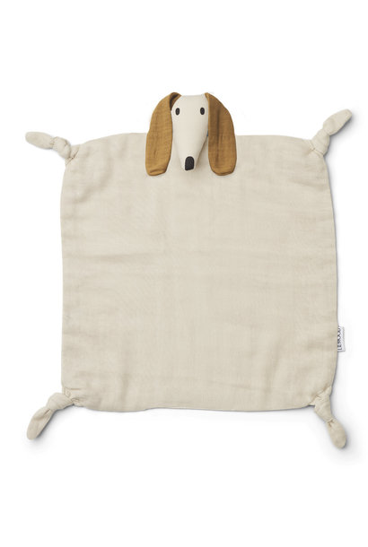 Liewood agnete knuffeldoek - Dog Sandy