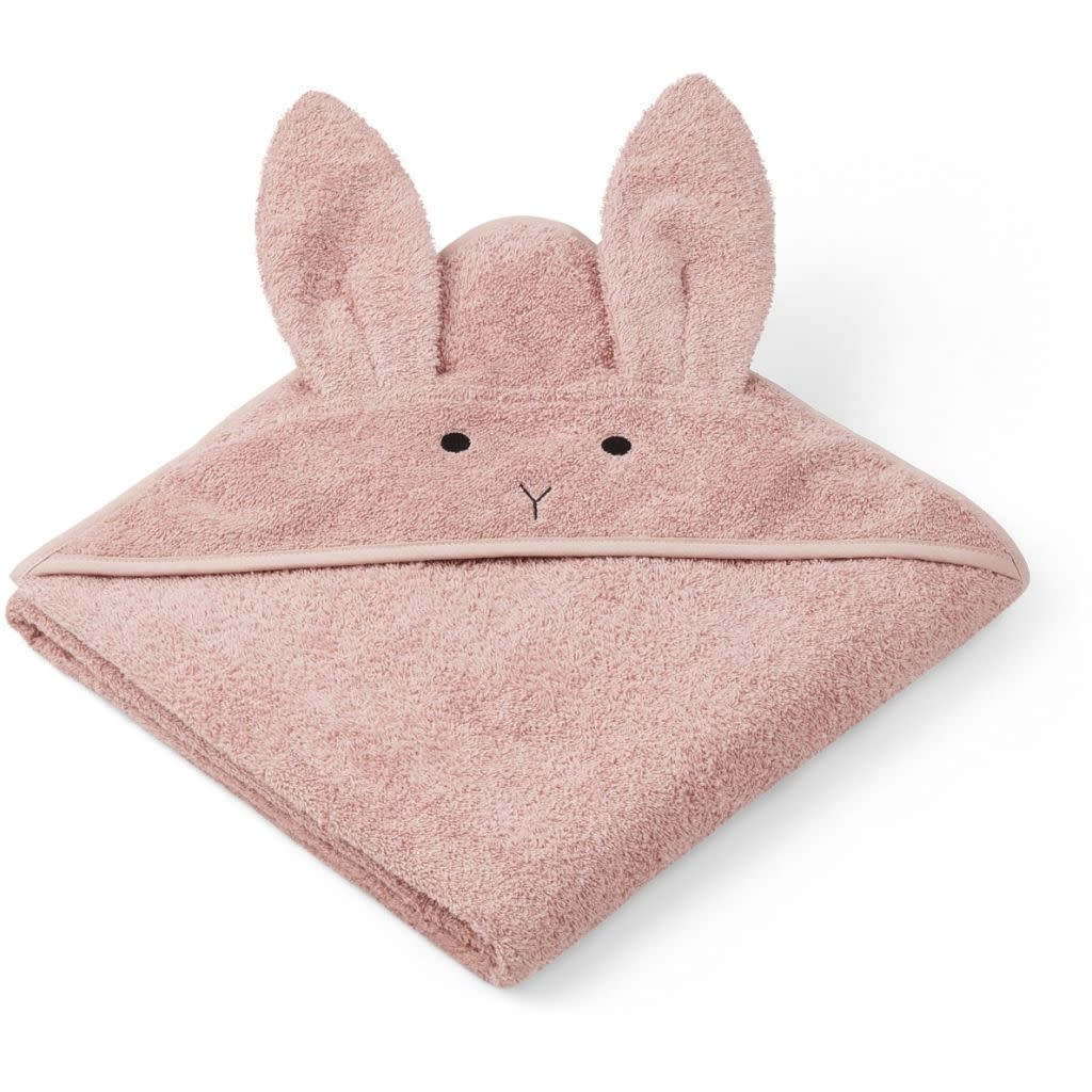 Liewood augusta badcape -Rabbit rose-2