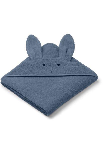 Liewood augusta badcape - Rabbit blue wave