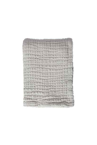 Mies & Co ledikant deken mousseline gentle grey