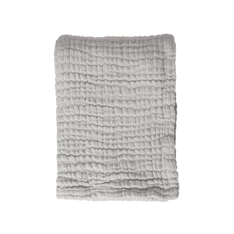 Mies & Co ledikant deken mousseline gentle grey-1