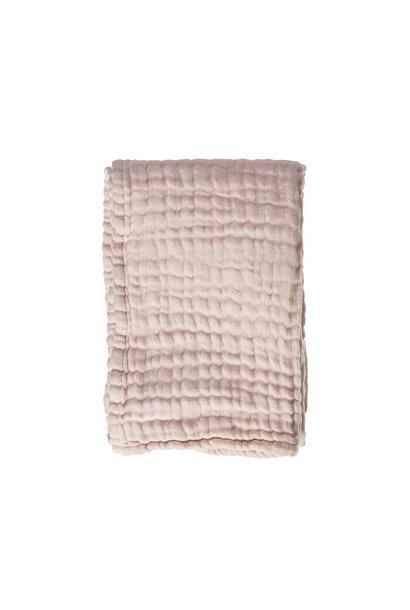Mies & Co wieg deken mousseline soft pink