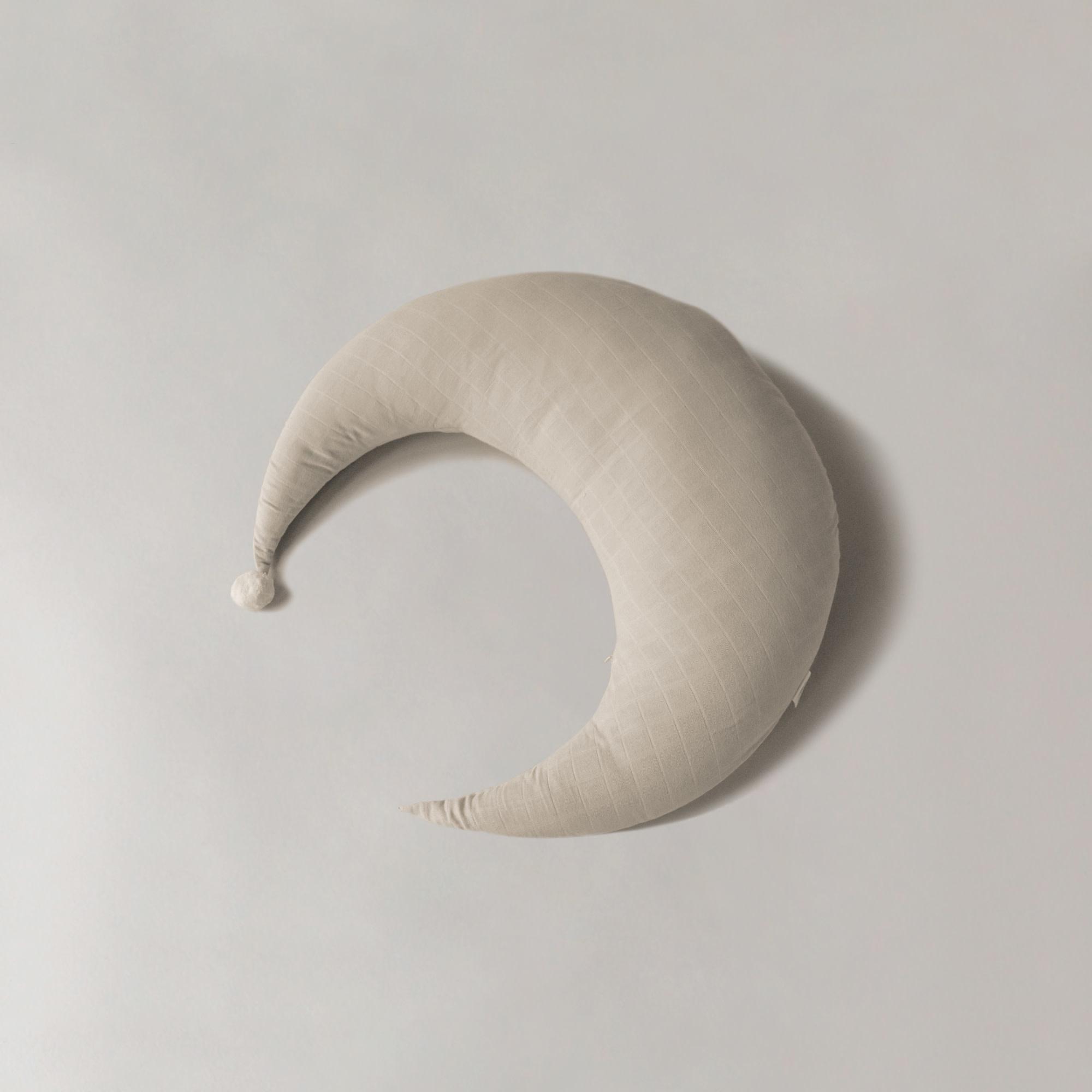 Play at Slaep maan (voedings) kussen groot – Sand-1