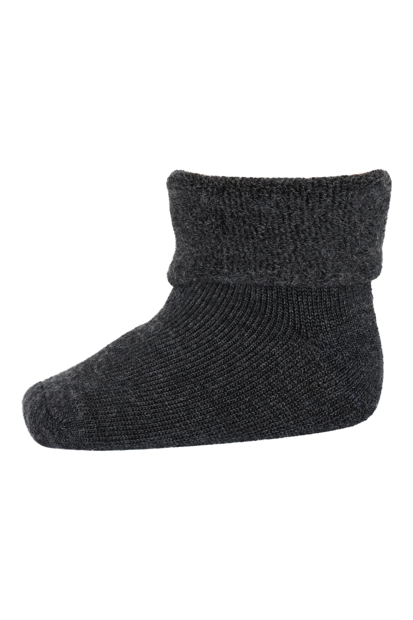 MP Denmark wol teddy sokjes 484 dark grey melange-1