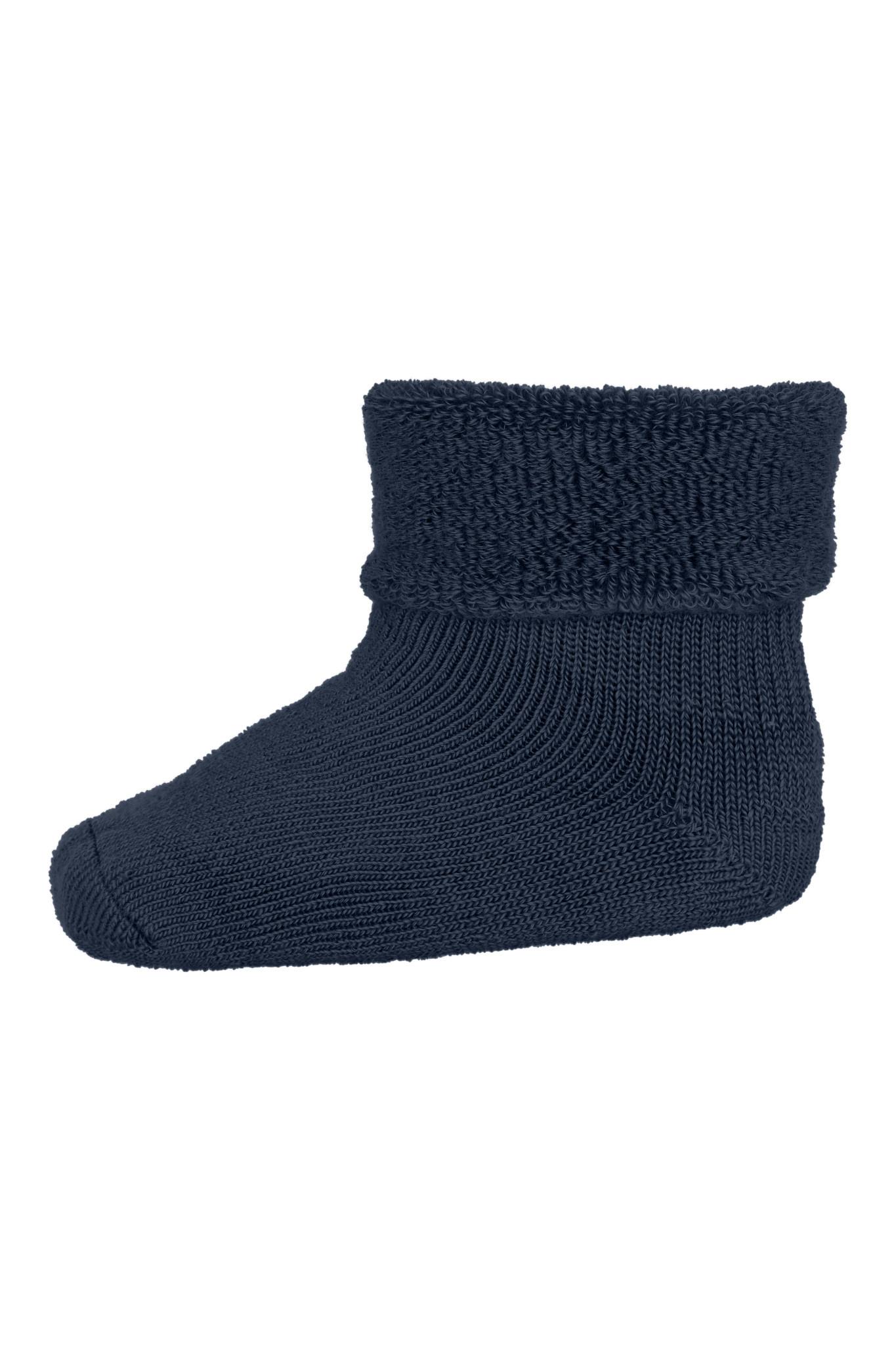 MP Denmark wol teddy sokjes 498 dark denim melange-1