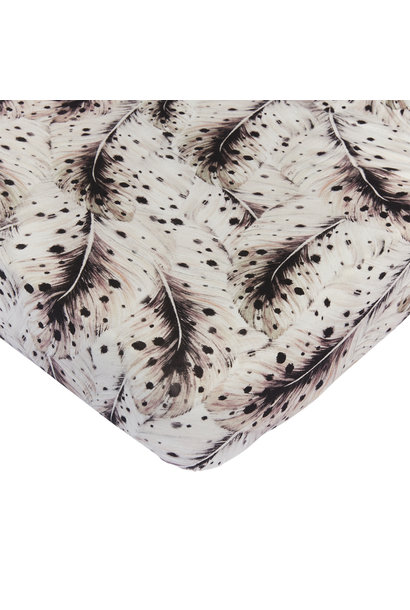 Mies & Co wieg hoeslaken feathers