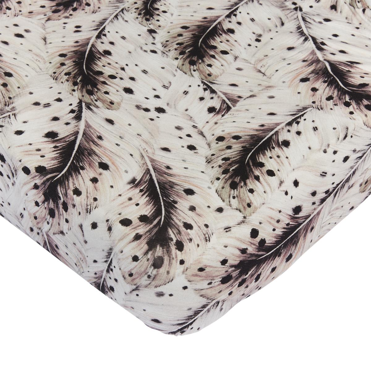 Mies & Co wieg hoeslaken feathers-1