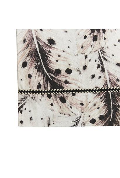 Mies & Co ledikant laken feathers