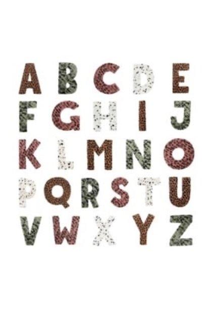 vanPauline foam letters groen