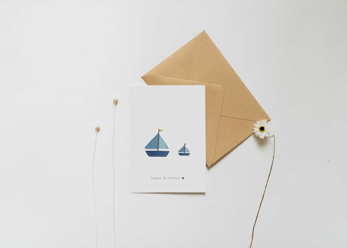 Nadine's illustraties wenskaart happy birthday bootjes-2