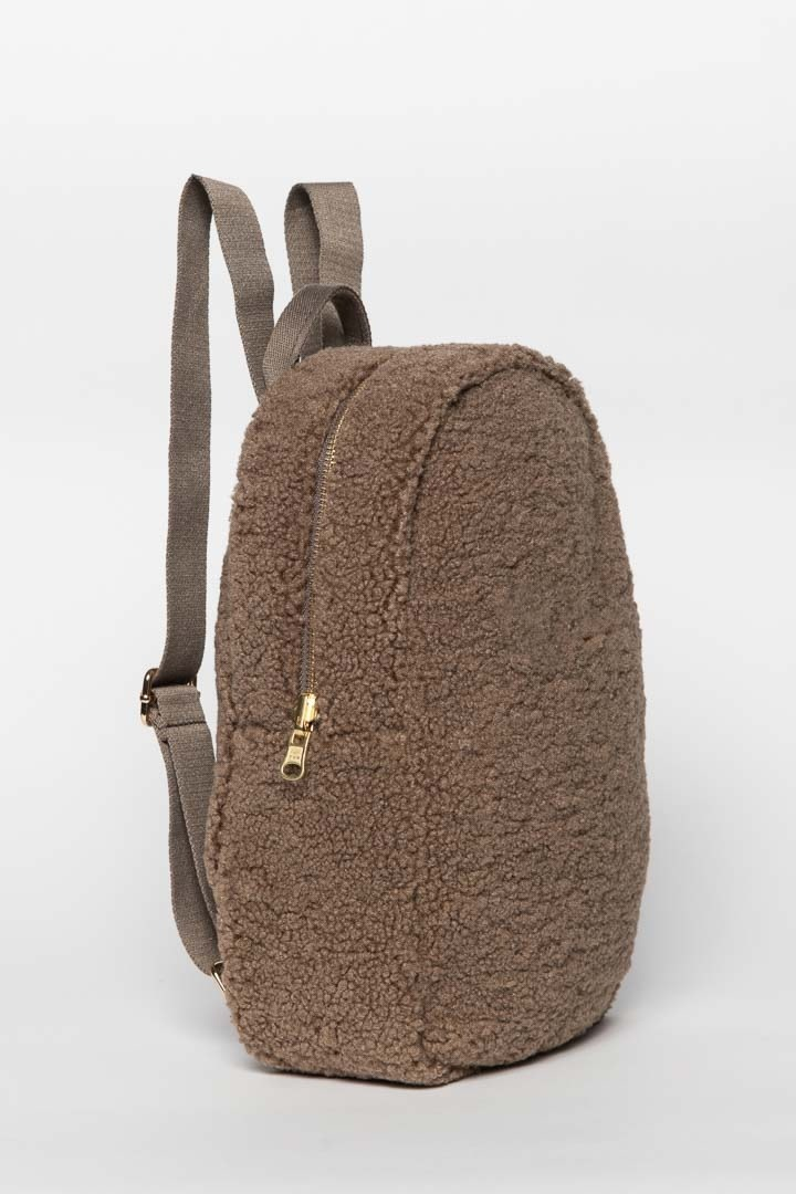 Studio Noos mini teddy rugzak bruin-2