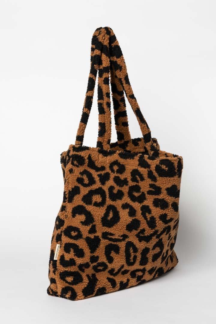 Studio Noos mom bag teddy leopard bruin-2