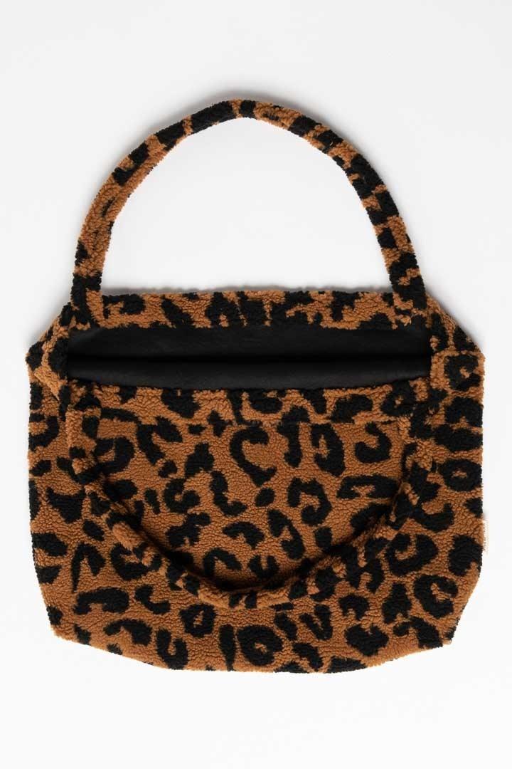 Studio Noos mom bag teddy leopard bruin-4