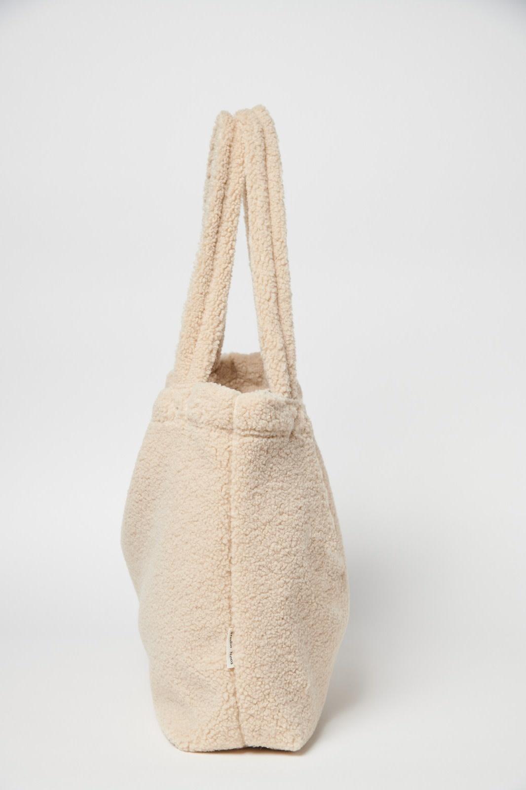 Studio Noos mom bag teddy ecru-3