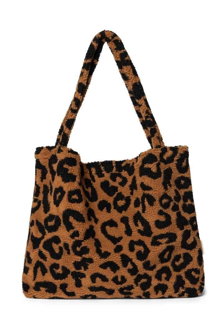 Studio Noos mom bag teddy leopard bruin-1