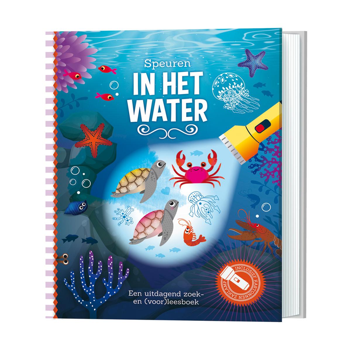 Zaklampboek - speuren in het water-1