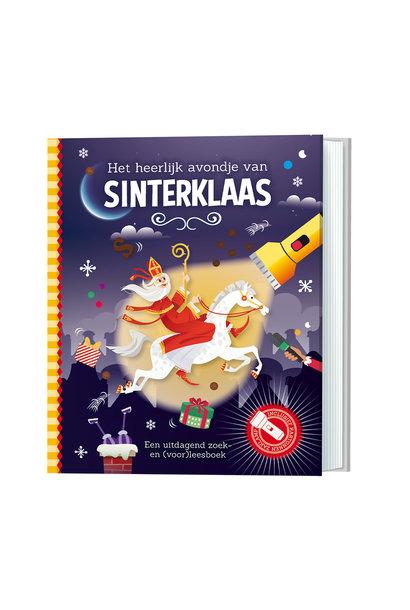 Zaklampboek - het heerlijk avondje van Sinterklaas