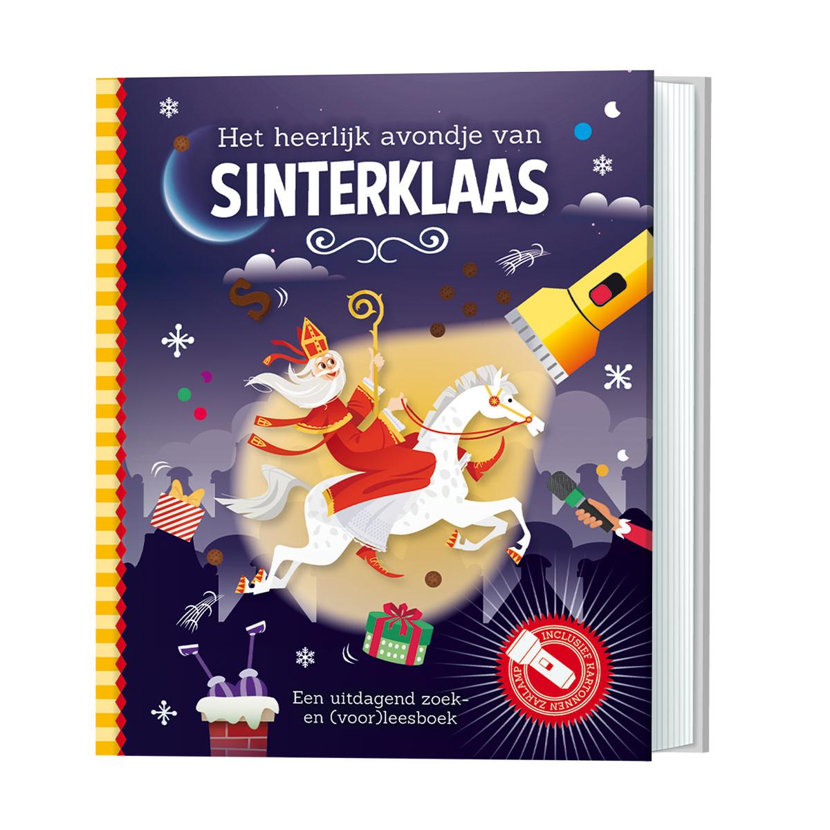 Zaklampboek - het heerlijk avondje van Sinterklaas-1