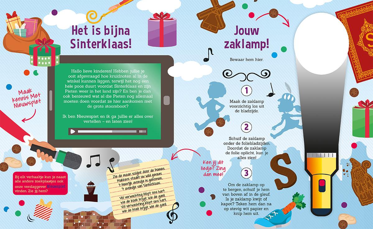 Zaklampboek - het heerlijk avondje van Sinterklaas-2