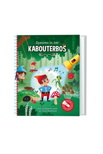 Zaklampboek - speuren in het kabouterbos