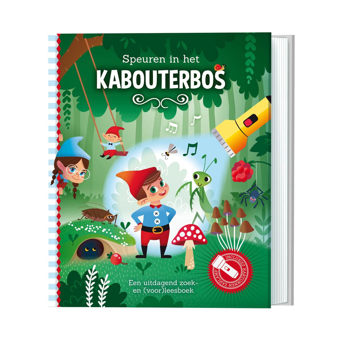 Zaklampboek - speuren in het kabouterbos-1