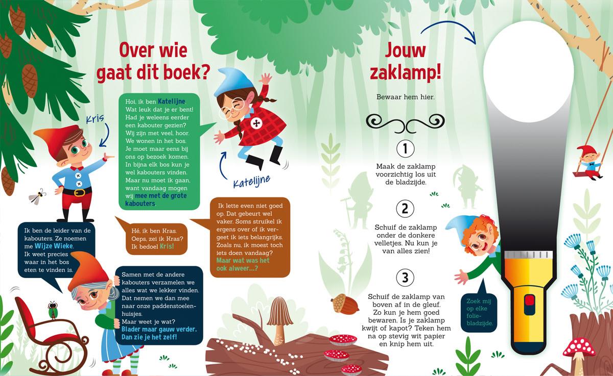 Zaklampboek - speuren in het kabouterbos-2