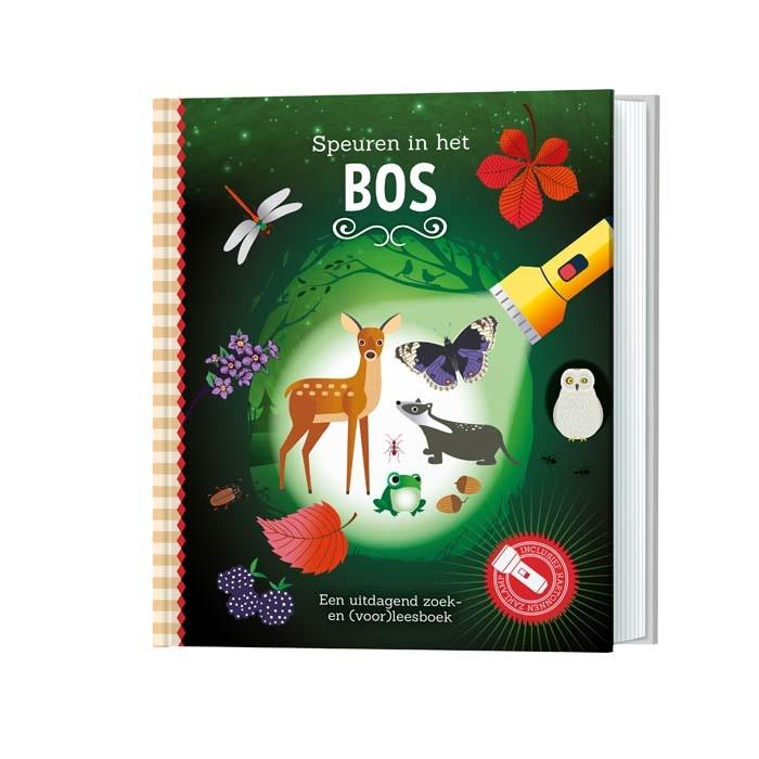 Zaklampboek - speuren in het bos-1