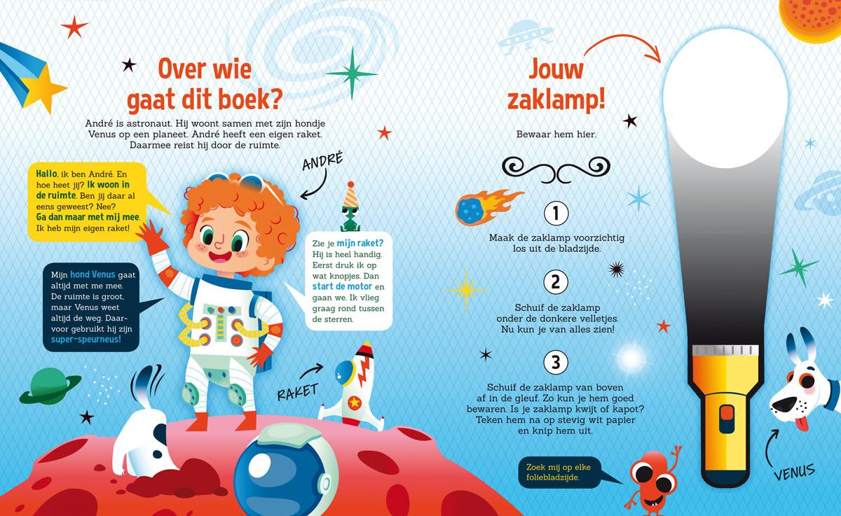 Zaklampboek - speuren in de ruimte-2