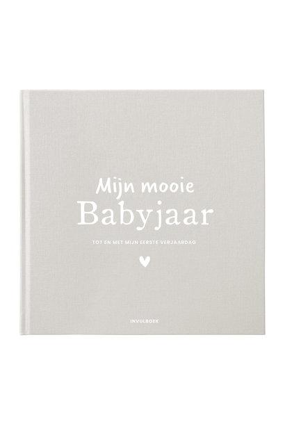 Invulboek mijn babyjaar - Zand