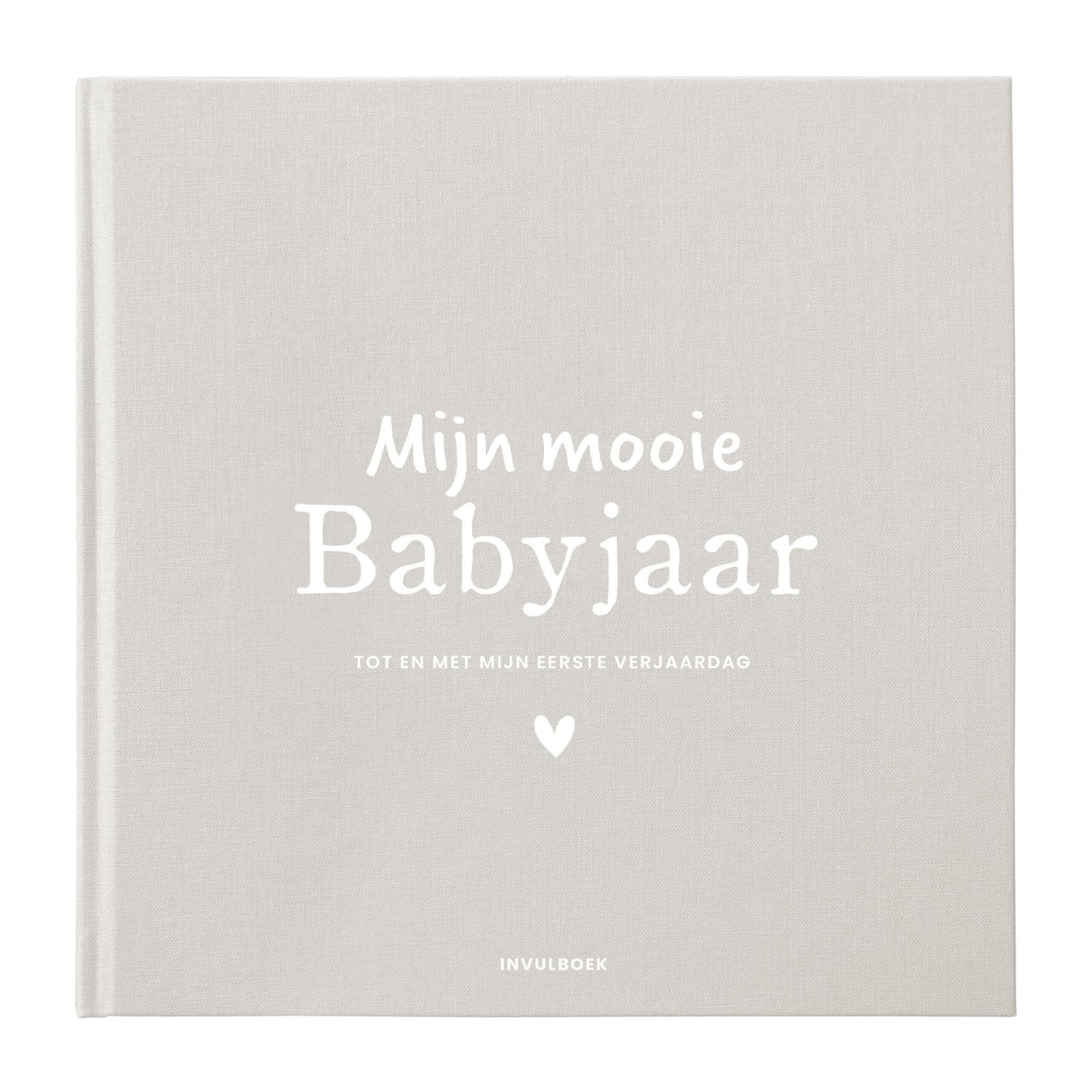 Invulboek mijn babyjaar - Zand-1