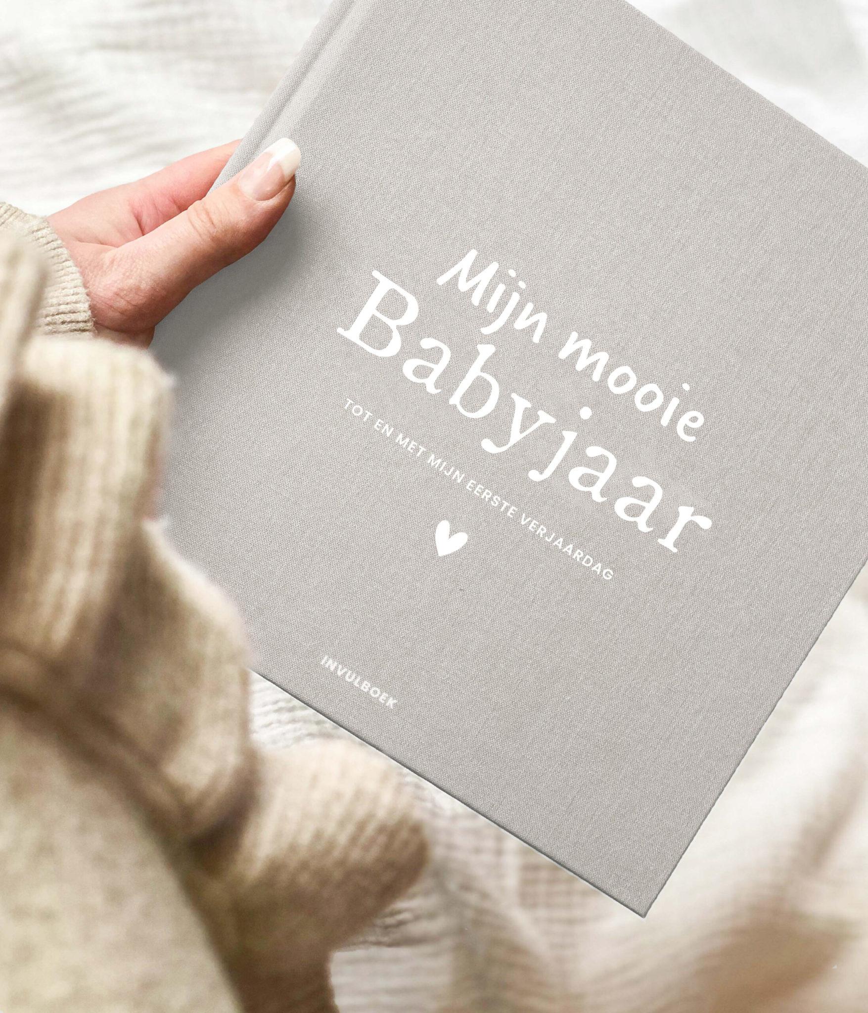 Invulboek mijn babyjaar - Zand-2