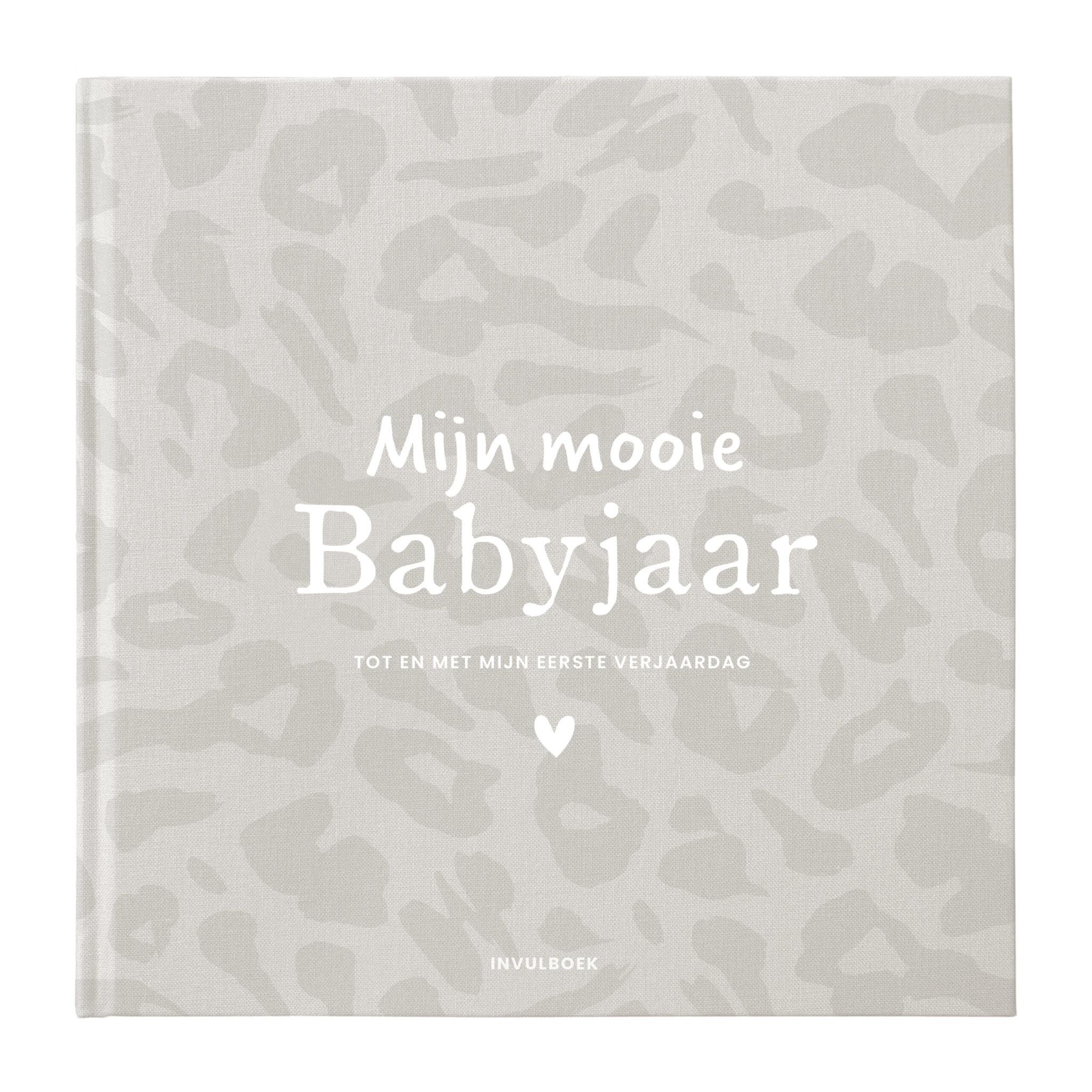 Invulboek mijn babyjaar - Leo-1
