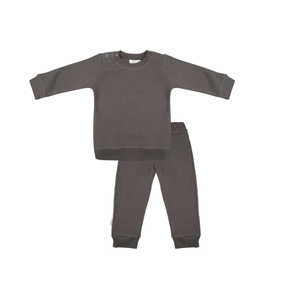 Little Indians pyjama dusty olive-1