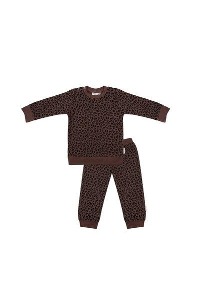 Little Indians pyjama leopard