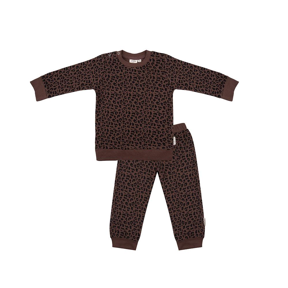 Little Indians pyjama leopard-1