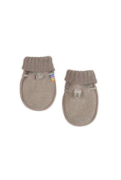 Joha handschoentjes 100% wol - Sesame melange