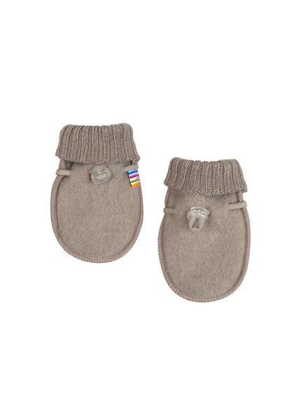 Joha handschoentjes 100% wol - Sesame melange-1