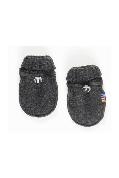 Joha handschoentjes 100% wol - Dark grey melange