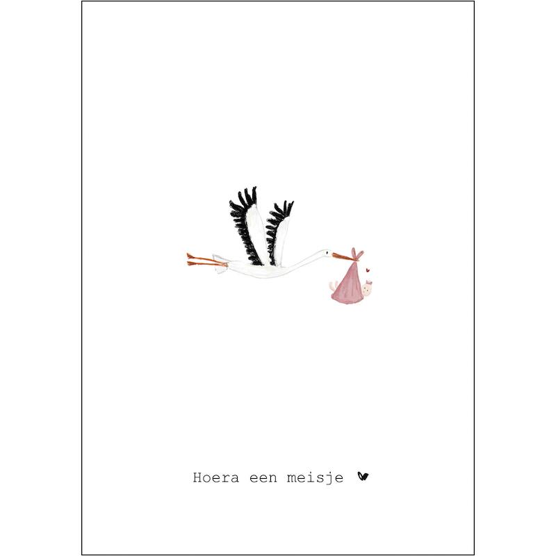 Nadine's illustraties hoera een meisje ooievaar-1