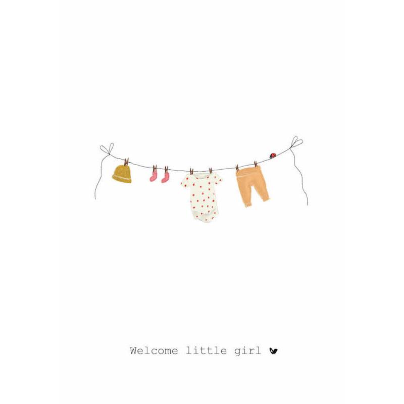 Nadine's illustraties welcome little girl-1