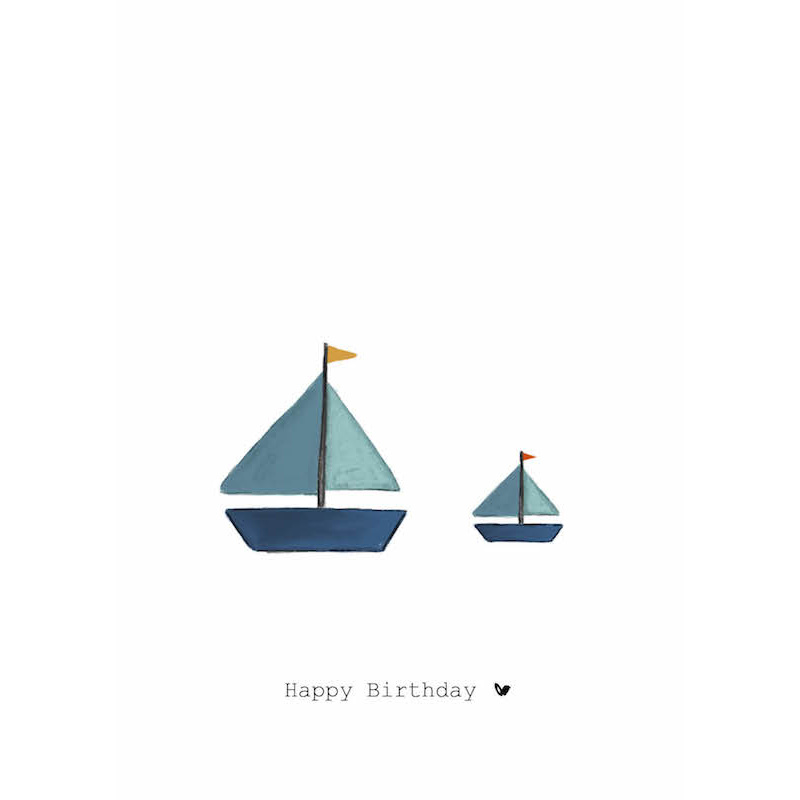 Nadine's illustraties wenskaart happy birthday bootjes-1