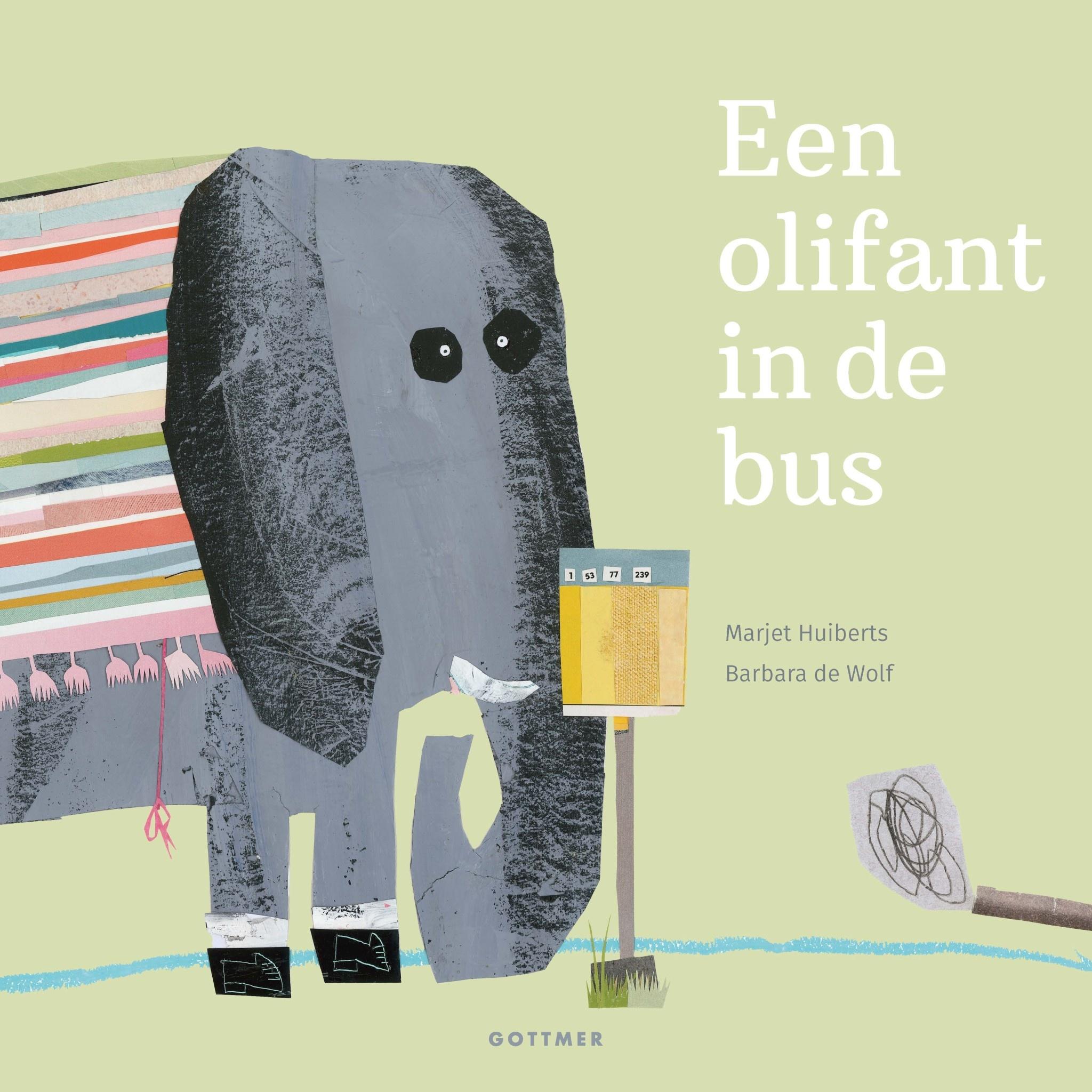 Boek - Een olifant in de bus-1