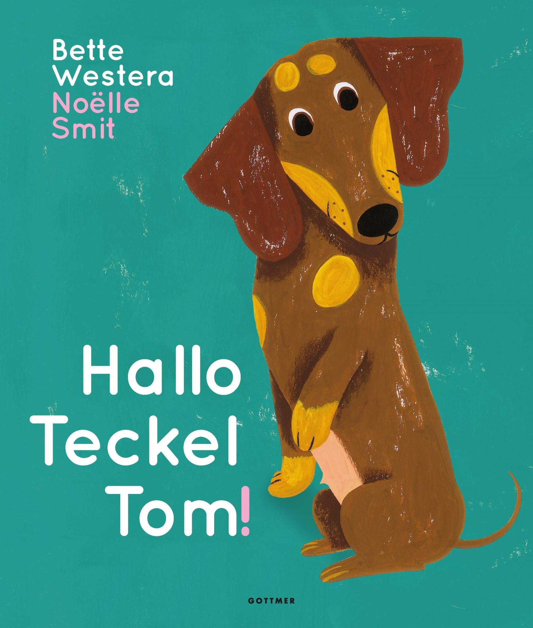 Boek - Hallo teckel Tom-1