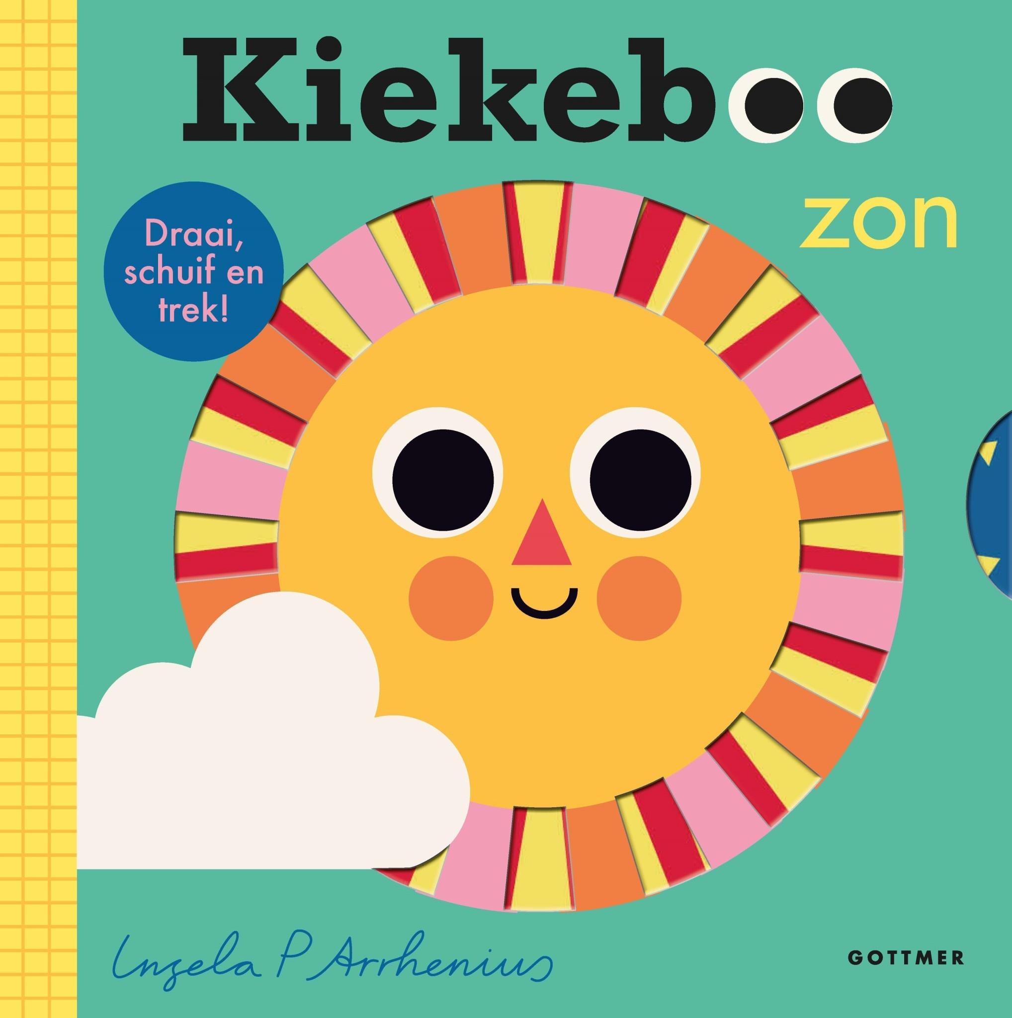 Boek - kiekeboe zon-1