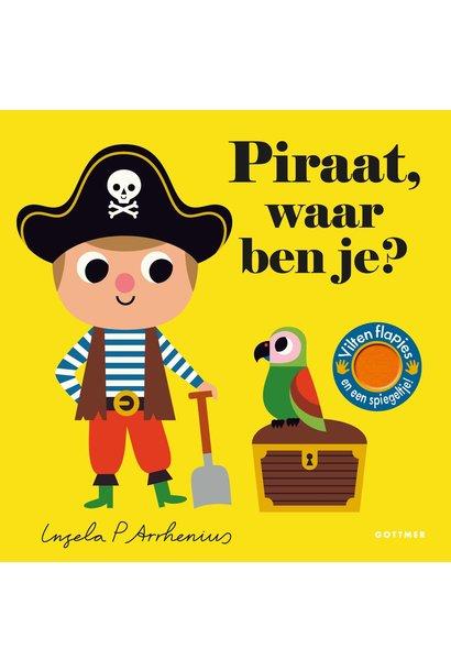 Boek - piraat, waar ben je?